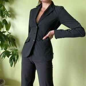 Jackets & Blazers - BLACK SUIT SET